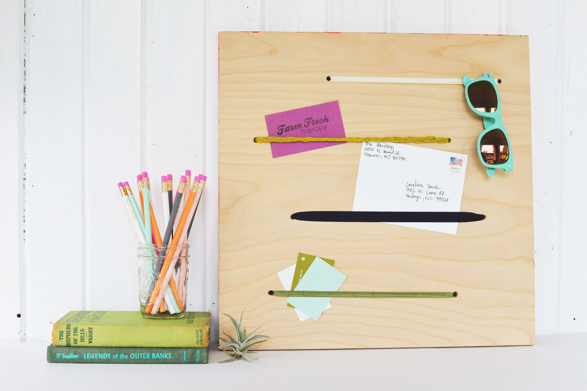 DIY memo board | Farm Fresh Therapy for Homedit.jpg