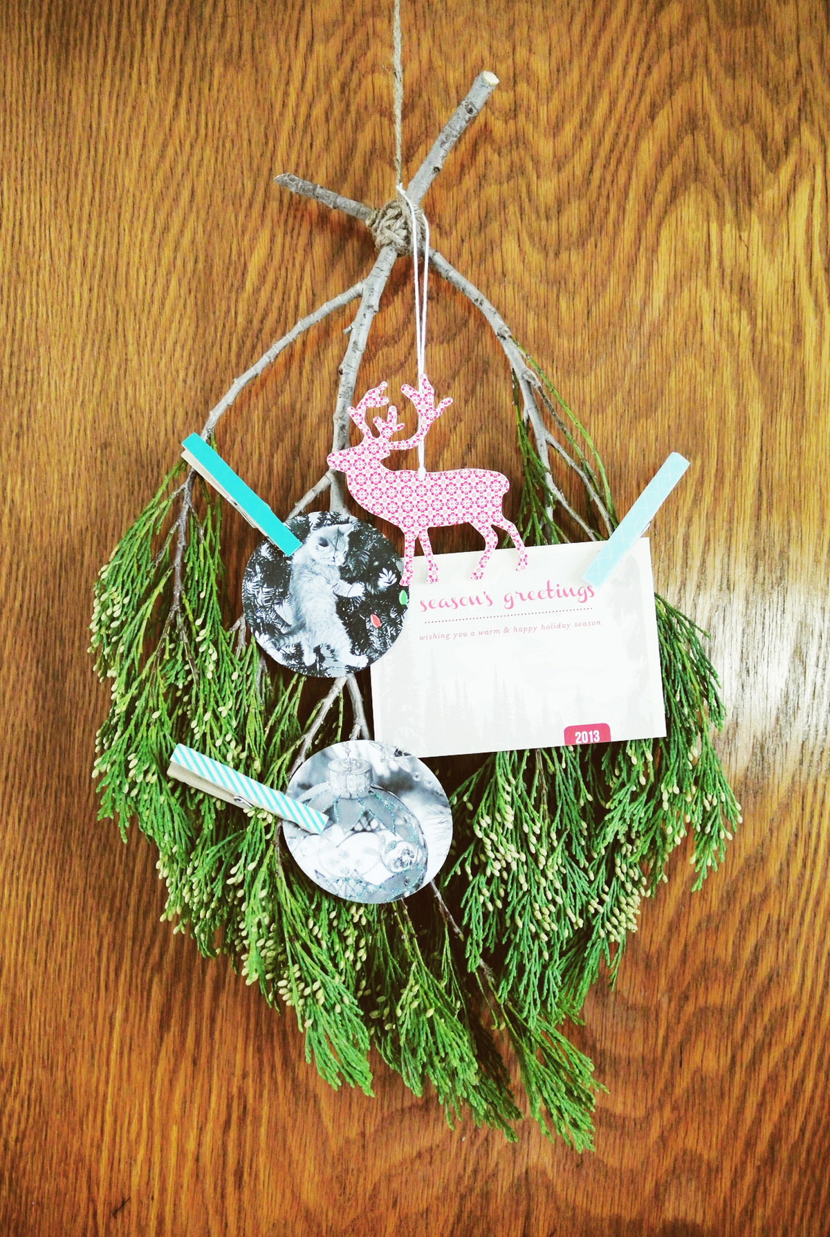 card wreath from branches | farm fresh therapy.jpg